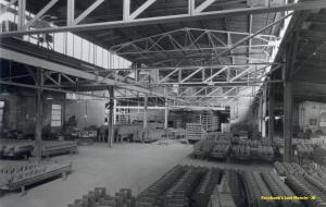 Interior view of Frank Foundries 1946